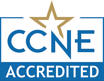 RN to BSN nursing degrees at Wilmington University are CCNE accreditted