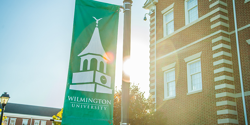 New Castle Campus - WilmU Banner