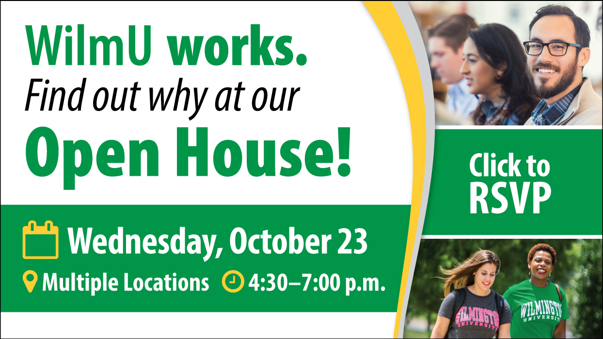 Attend the Fall Open House on October 23